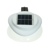 Solar Power Fence Lamp UFO Shape 9 LED Gutter Lighting