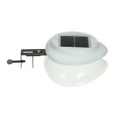 ソーラーパワーフェンスランプUFOシェイプ9 LEDガター照明