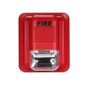 Feueralarm Warnung Strobe Sirene Sicherheitssystem
