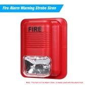 Fire Alarm Warning Strobe Siren Security System
