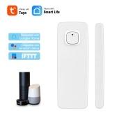 WiFi Смарт Датчик Двери Tuya APP Управления Окна Двери Открытие Датчик Охранной Сигнализации