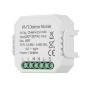1CH DIY Мини Wi-Fi Диммер Модуль Smart Light Triac Регулятор Диммер Выключатель