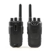 BaoFeng T11 2PCS Mini-Walkie-Talkie 446.00625- 446.09375 MHz 16-Kanal-tragbarer Hand-Transceiver Interphone VOX-Funktion Batterie Speichern Sie LED-Taschenlampe Funkgerät