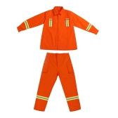 Kämpfende Kleidung Feueranzug Schutzkleidung Feuerfeste wasserdichte hitzebeständige flammhemmende Kleidung