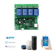 Sonoff 4CH-5V / 7-32V Smart Fernbedienung Wireless Switch Universal-Modul