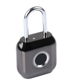 Waterproof Intelligent Fingerprint Lock Electronic Thief Resistant Locks Home Secure Safety Padlock