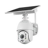 Câmera de vigilância impermeável exterior sem fio da câmera de segurança do painel solar 1080p