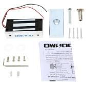 OWSOO 60KG 132lbs Força de retenção Lock Elétrica magnético Para o Modo Porta Controle de Acesso Sistema Eletroímã prova de falhas NC