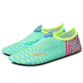 Simple Fashionable All Match Summer Cool Lovers Unisex Women Men Soft Cozy Comfortable Lightweight Quick Dry Antiskid Sole Multi-functional Leisure River Trekking Beach Yoga Fitness Swimming Dacron Shoes