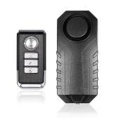Bicicleta / triciclo eléctrico / alarma de la puerta / de la ventana de la vibración Alarma antirrobo inteligente Alarma teledirigida sin hilos de la alarma Ruidosamente impermeable Sensibilidad ajustable