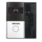 OWSOO 720 P WiFi Visuelle Gegensprechanlage Türsprech Infrarot Nachtsicht PIR Android IOS APP Fernbedienung für Tür Eintrag Zutrittskontrolle