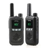 BAOFENG F17 2PCS Mini Walkie Talkie 446.00625- 446.09375 MHz 16CH tragbarer Handtransceiver Interphone VOX-Funktion LED-Taschenlampe FM-Funkgerät