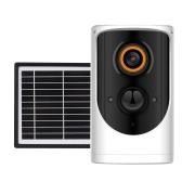 Cámara de seguridad para exteriores con energía solar