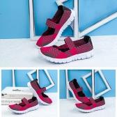 Mulheres de verão respiráveis Casual Running Weave Shoes