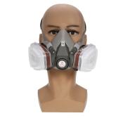 6200 Atemschutzmaske wiederverwendbar mit 1 Paar Patronen + 1 Paar Halterungen +1 Paar Filter Gasmaske Atemschutz für Lebensretter