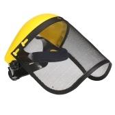 メタルメッシュバイザー安全ヘルメットハット