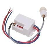 Commutateur de capteur infrarouge PIR à induction de mouvement du corps humain AC 220V