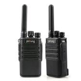 POFUNG F8 2PCS Mini-Walkie-Talkie 22CH FRS 462.5500 bis 467.7125MHz Tragbarer Hand-Transceiver Interphone VOX-Funktion LED-Taschenlampe Funkgerät