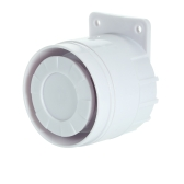 External Mini Wired Siren 110 dB Prompt Alert Alarm for Home Wireless Security Alarm System 433MHz