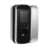 Sistema de controle de acesso de porta de senha inteligente de impressão digital