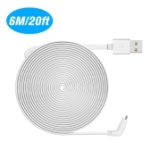Flachkabel Aluminiumlegierung Micro-USB-Kabel Lade- / Netzkabel ohne Stecker