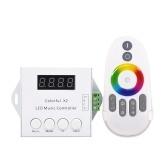Controlador colorido dos pixéis endereçáveis digitais do controlador da música da tira do diodo emissor de luz