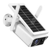 Câmera de segurança solar externa 1080P