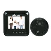 "KKmoon 2.4 ""LCD Digital Peephole Viewer 160 ° porta olho campainha"