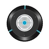 Robô de limpeza de piso inteligente a vácuo doméstico