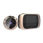 Digital Door Viewer Guckloch Türkamera Türklingel 2,8-Zoll-LCD-Bildschirm Nachtsicht-Fotoaufnahme Digitale Türüberwachung für die Sicherheit zu Hause