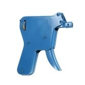 Bloqueio Forte Picareta Arma Ferramenta de Serralheiro Abridor de Fechadura Da Porta Com 4 Escolher Lâminas E 1 Chave de Tensão Manual de Bloqueio Pick Gun Set, azul