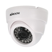 KKmoon 1080P AHD Dome CCTV Analog Kamera 3.6mm Objektiv 1 / 2.8 '' CMOS 2.0MP IR-CUT 24pcs IR LED Nachtsicht für Home Security NTSC System