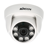 KKmoon 1080P AHD Dome CCTV-Kamera 2.0MP 1 / 2.8 '' CMOS 6pcs Array IR LED Nachtsicht IR-CUT Indoor Home Security PAL System