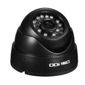 OWSOO 1080P AHD Dome CCTV Câmera Analógica 3.6mm Lente 1/3 '' CMOS 2.0MP IR-CUT 24pcs IR LEDS Visão noturna para Segurança Naturais Sistema NTSC