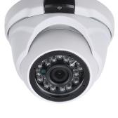 Câmera de segurança analógica de alta resolução com 24 câmeras Nightvison Indoor Dome