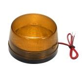 Luz de LED de aviso de segurança de alarme estroboscópico com fio