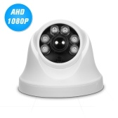 1080P AHD Dome CCTV Camera 2.0MP 1.8mm Lens 160° Wide View Angle 6pcs Array IR Lamps Night Vision IR-CUT Indoor Home Security PAL System