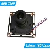 CCTV AHD Kamera Modul 3,6 mm 720 P AHD 100 MegaPixel DIY Platine Unterstützung XVI Für MiNi AHD Kamera PAL System