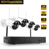 K8208-8 Kit NVR wireless 8CH + 4 telecamere
