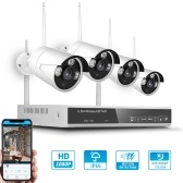 XF-1604M Kit NVR wireless 4CH + 4 telecamere