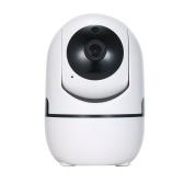 1080P IP-камера Домашняя безопасность Беспроводная камера Обнаружение движения Радионяня Двусторонняя аудио Камера наблюдения ночного видения Управление приложением для детского магазина Офис Мониторинг домашних животных