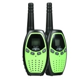 2PCS Walkie Talkies com PTT / VOX XFC 8CH 2 vias rádios Communicator