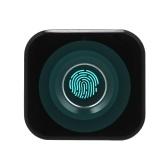 Smart Keyless Fingerprint Cabinet Lock Biometric Electric Lock Mini Portable Fingerprint Drawer Lock for Office Drawer File Cabinet