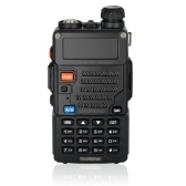 BaoFeng 128CH Dual Band VHF 136-174MHz & UHF 400-520MHz Talkie Walkie Transceiver 2-Wege-Radio Portable Handheld Wasserdichte Interphone lange Distanz 1800mah Akku