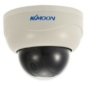 "Second Hand KKmoon  3'' AHD 1080P Dome PTZ CCTV Camera 2.8~8mm Auto-Focus Manual Varifocal Zoom Lens 2.0MP 1/3"" for Sony CMOS IR-CUT 2pcs Array IR LEDS Night Vision for Home Security NTSC System"