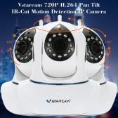 Vstarcam C7838WIP h. 264 720p HD IP Kamera Plug & Play P2P PnP Netzwerk Webcam Pan Tilt Wireless Wifi Micro SD Card innen Sicherheit IR-Cut
