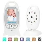 KKmoon VB601 Baby Monitor Kamera 2,0 In LCD 2.4GHz Wireless mit 8IR LED ZweiWege Sprechen 8 Schlaflieder Temperatur Monitor VOX Modus