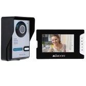 7 «видео дверь телефон TFT ЖК-экран разблокировать ИК ночного видения непромокаемые домашней безопасности