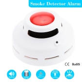 High Sensitive Standalone Photoelectric Smoke Detector MCU Technology Fire Alarm Security System