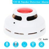 Stabile eigenständige Kombination Kohlenmonoxid und Rauchmelder hoch sensible CO & Rauchmelder für Haussicherheit